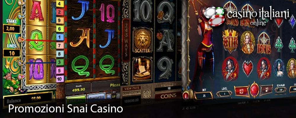Promozioni Snai Casino