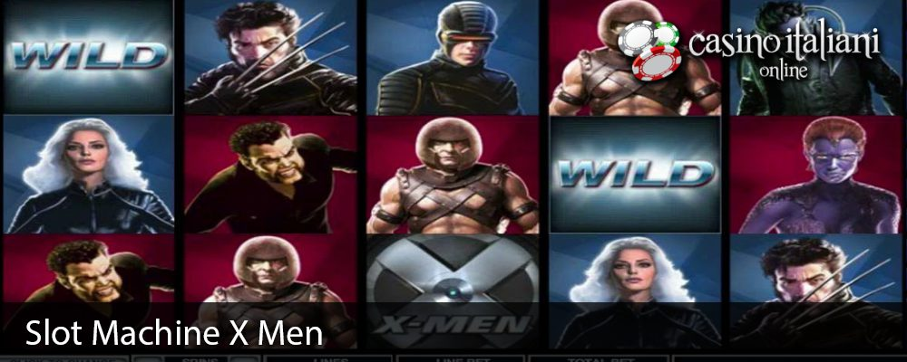 Slot Machine X Men