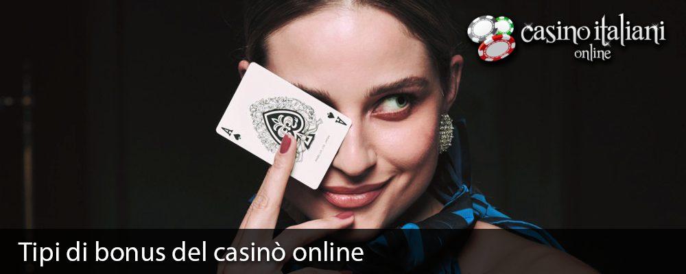Tipi di bonus del casinò online