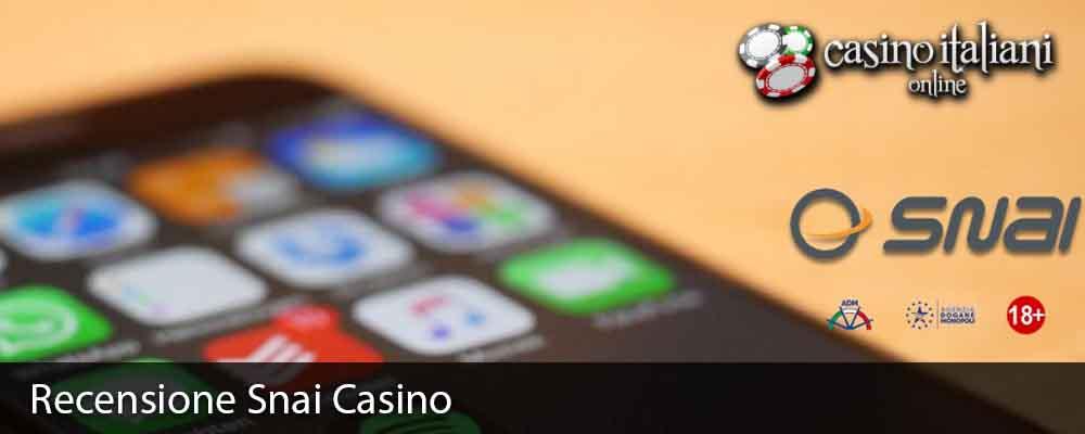 Recensione Snai Casino
