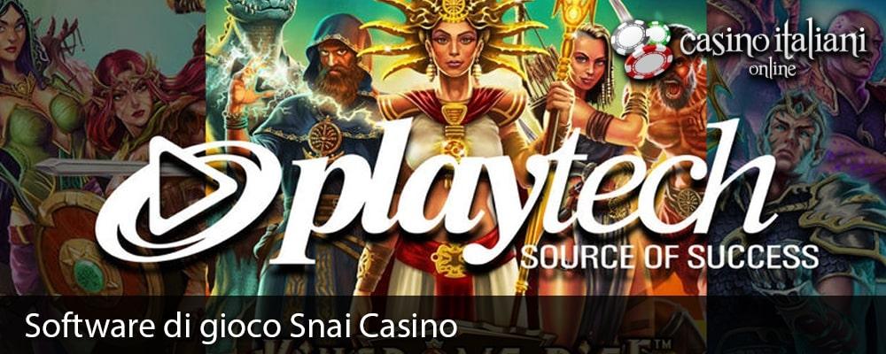 Software di gioco Snai Casino