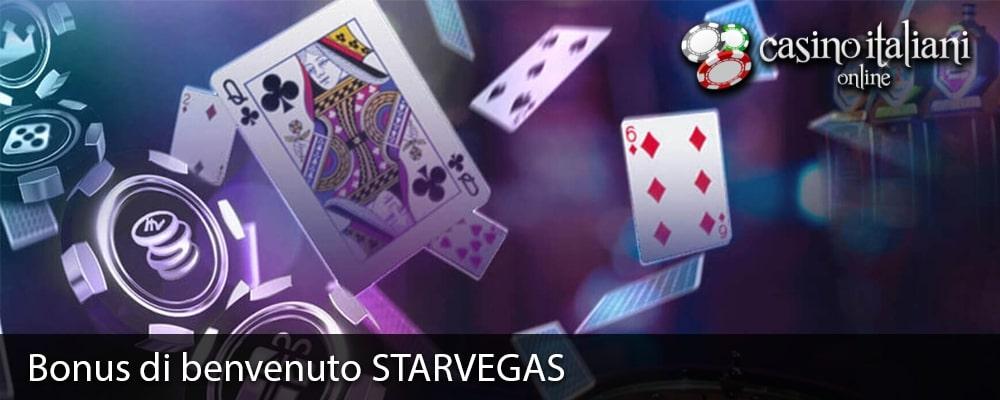 Bonus di benvenuto STARVEGAS