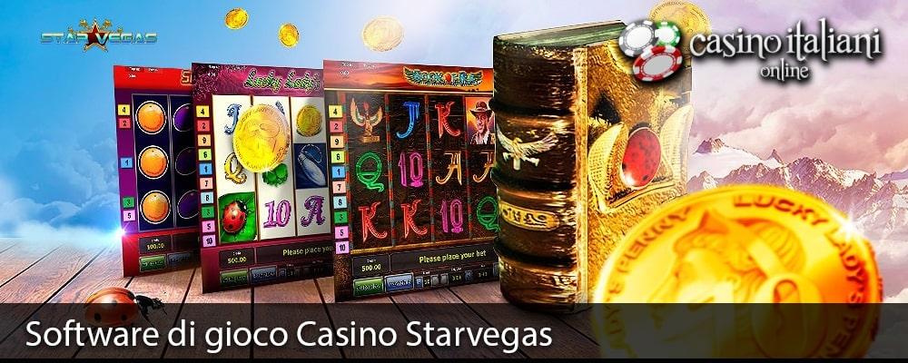 Software di gioco Casino Starvegas