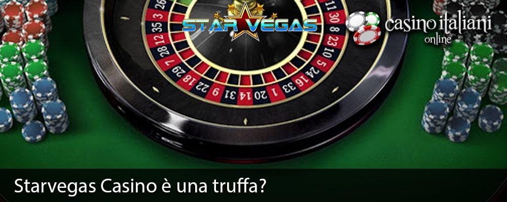 Starvegas Casino è una truffa