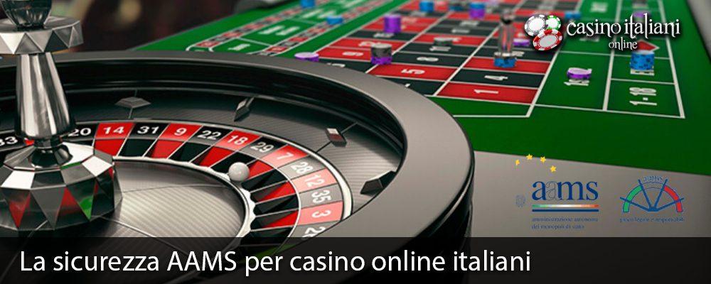 La sicurezza AAMS per casino online italiani