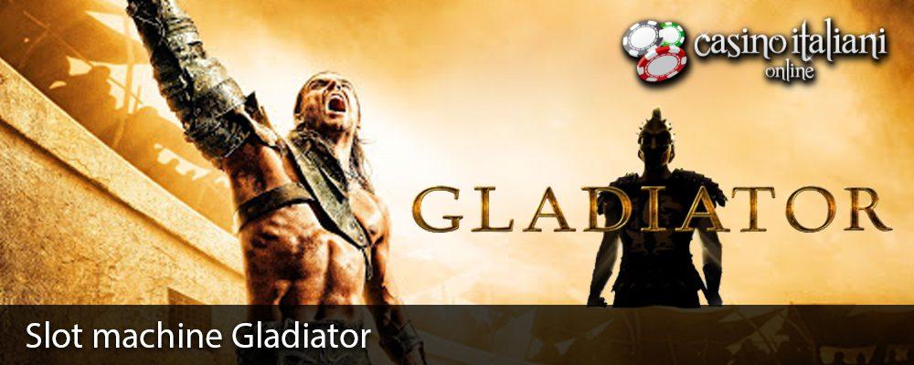 Slot machine Gladiator